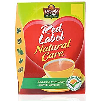 Brooke Bond Red Label Tea - Natural Care, 250g Carton
