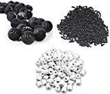 #1: UMINO Fish Tank 500G Activated Carbon + 500G Ceramic Rings + 22 Bio Balls with Filter Bag