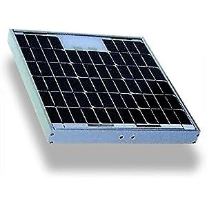 Göbel Weidezaungerät Zubehör Solarmodul 20W 12V