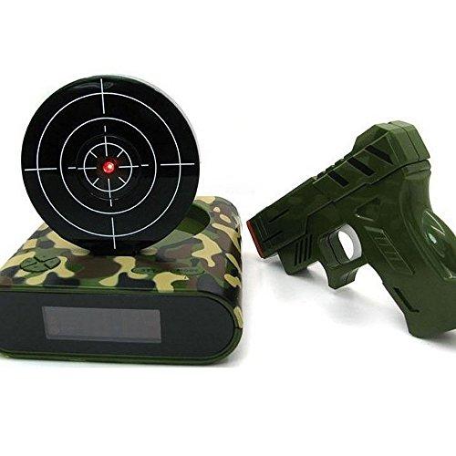 Reloj Despertador con Pistola