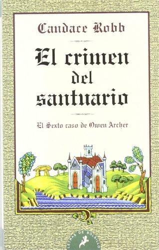 Crimen del santuario, el - bolsillo - (Letras De Bolsillo)