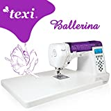 TEXI Ballerina - Computergesteuerte Nähmaschine - 200 Stichmuster - NEU!