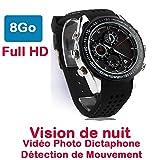 Zeigt versteckte Kamera Spion 8GB Full HD 1920x 1080Bewegungsmelder dictaphone-vision Nachtleben Winner dw-87bm-vr-8