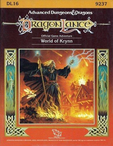The World of Krynn, Dl16 (Advanced Dungeons & Dragons Dragonlance Accessory) by Douglas Niles (1988-12-02) par Douglas Niles;Michael Gray