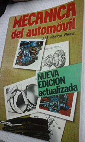 Mecanica del automovil por Alonso Perez