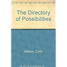 The Directory of Possibilities by Colin Wilson (1981-09-02)