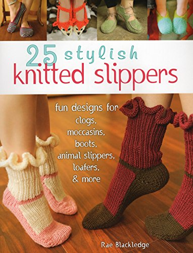 25 STYLISH KNITTED SLIPPERS: FPB