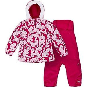 Trespass Squeezy Warmer Fleecegefütterter Wasserdichter Skianzug mit Kapuze für Babys / Kleinkinder / Säuglinge / Unisex / Mädchen und Jungen, ,