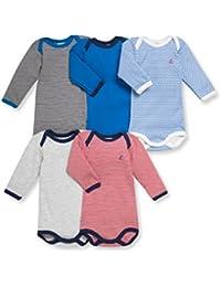 Petit Bateau Baby-Jungen Body 5er Pack