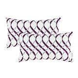 Best Pillowcase Modern Fantasy Sofas - Pack of 2 CaliTime Cozy Bolster Pillow Cases Review