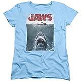Jaws–Camiseta de Mujer diseño de título