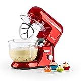 Klarstein Bella Rossa 2G • robot de cuisine • mélangeur • pétrin • 1200 W...