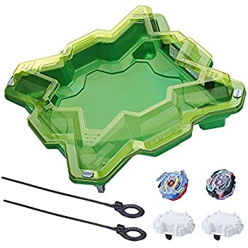 Beyblade - Figurine Set de Combat Tempete de Cristal, E0722