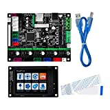 KOOKYE 3D Printer Parts MKS Robin nano Integrated Circuit mainboard Controller Motherboard with Robin TFT28 Display closed source software with FFC Line & USB Cable
