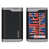 Tritina Portable Power Bank 7800mah Housse imperméable à la poussière Proof Dual Port USB externe chargeur de batterie, indicateur LCD, pour Apple Iphone, Ipad, Samsung Galaxy et autres téléphones cellulaires et tablettes--- (Noir),Le drape