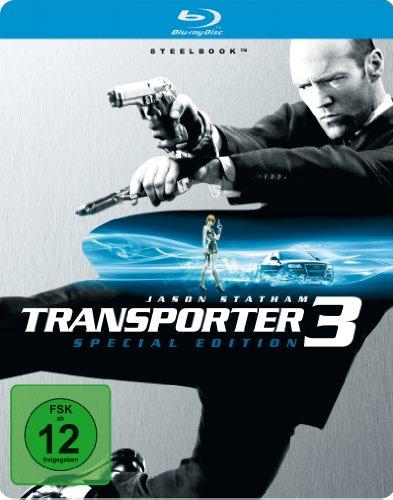 Transporter 3 (Steelbook) [Blu-ray]