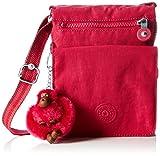 Kipling Eldorado, Sacs bandoulière femme, Pink (Cherry C), 15x19.5x2 cm (W x H x L)