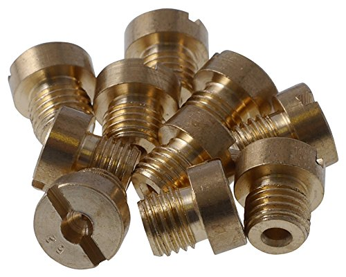 Düsenset (10Stk) 2EXTREME für DELLORTO M6 / 6mm 50-72