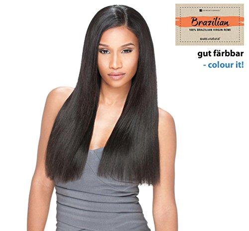 100% Brésilienne Remy extensions de cheveux Weave Sensationnel/Tresse Natural Yaki Bare & Natural