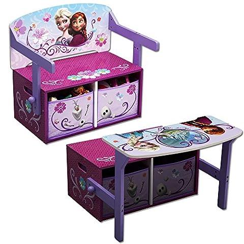 Disney - Kindersitzgruppe - Kindertisch - Kinderbank 3in1 mit Motivauswahl (Frozen)