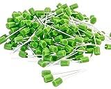 amzhealth verde espuma oral/boca limpieza Swab–Pack de 250