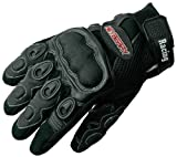 Heyberry Sommer Motorradhandschuhe Textil Leder Motorrad Handschuhe Gr. XL