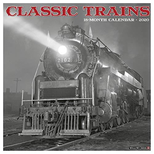 Classic Trains 2020 Wall Calendar