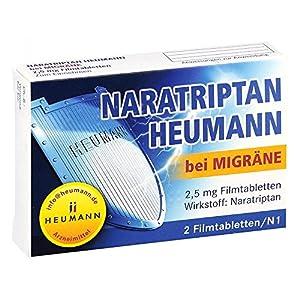 Naratriptan Heumann bei Migräne 2,5mg 2 stk