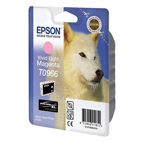 Epson T0966 Cartouche d'encre d'origine Vivid magenta clair