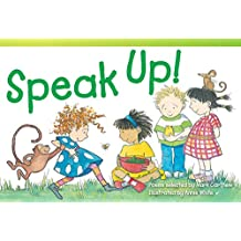 Speak Up! (Library Bound) (Read! Explore! Imagine! Fiction Readers)