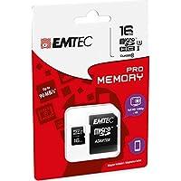 Emtec 16GB microSDHC Pro 16GB MicroSDHC UHS-I Class 10 memoria