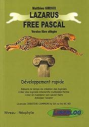 Lazarus Free Pascal : Développement rapide