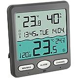 TFA 30.3056.10 - Termómetro digital de piscina con sensor remoto