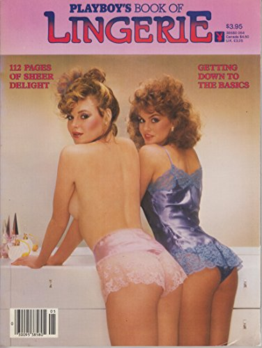 Playboy's Book of Lingerie - 112 Pages of Sheer Delight - Englische Ausgabe - 1984 Playboy Sheer