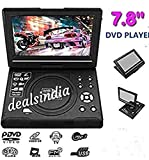 "Portable by dealsindia 7.8"" (7.15"") Portable Evd DVD, Video, MP3 Player with SD USB AUX, AV in/Out"