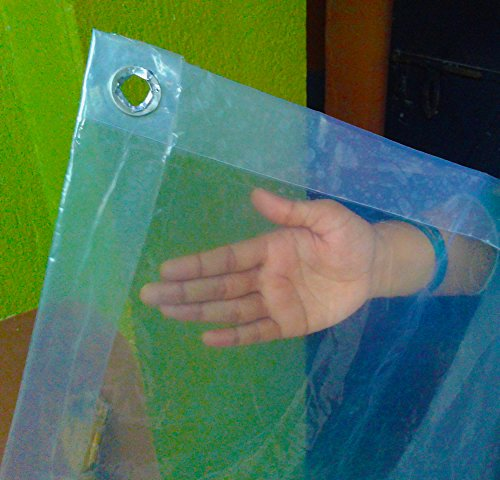 6 X 8 Foot (48 Sq Ft) Clear Rain Protector, Bed Mattress...