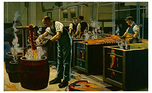 Sheeshai Prime Cotton Dye Works, Empire Marketing Board WW2 Vintage – Metallschild. 200 mm x 150 mm