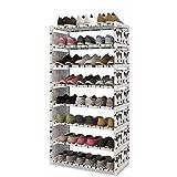 YYMMQQ Étagère à Chaussures Magic Union Fashion Porte-Chaussures Multifonctions à...