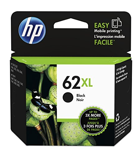 1x Cartouche d'encre pour HP Officejet 8040HP 62x l XL d'origine hp62x l C2P05AE–Black–Puissance: env. 600pages/5%