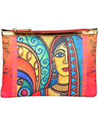 All Things Sundar P01 - 01 Multicolor Multipurpose Cosmetic Pouch