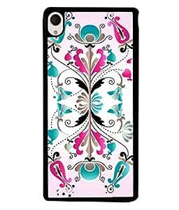PrintVisa Designer Back Case Cover for Sony Xperia M4 Aqua :: Sony Xperia M4 Aqua Dual (Cute Pink Design With Flowers)