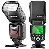 K&F Concept® E-TTL KF590C Blitz Blitzlicht Canon Speedlite Blitzgerät für