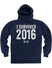 I Survived 2016 Hoodie, Herren