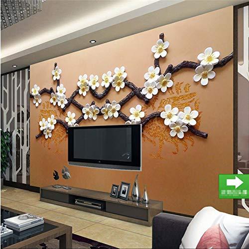 FGHJKL Wallpaper 3D FGHJKL Wallpaper 3D Beibehang wandaufkleber 3D großes wandbild mode boutique muster wohnzimmer TV wand papel de parede tapete für wände 3,250 cm * 175 cm - 3250-tv