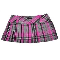 Mini falda de cuadros...
