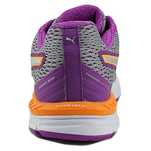 Puma Speed 600 Ignite Synthétique Baskets Quarry-Purple-Silver