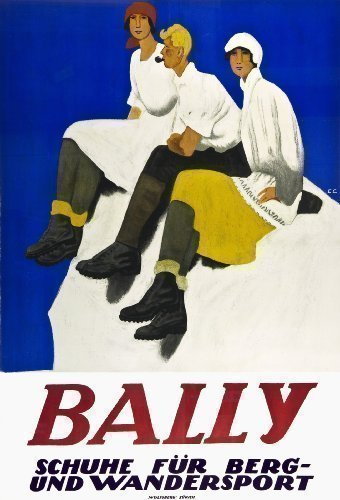 bally-shoes-of-switzerland-rare-large-vintage-1927-advertising-poster
