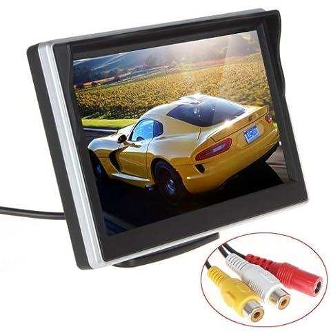 ePathChina® 5 Zoll TFT LCD HD Digital Panel Farbe Rückfahrkamera