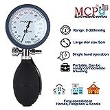MCP Palm Type Aneroid Sphygmomanometer Blood Pressure Monitor, Orange