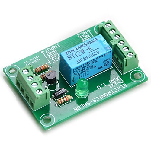 Electronics-Salon DPDT Signal-Relais-Modul 12VDC, TAKAMISAWA RY12W-K Relay. Zusammengebaut . Signal-relais